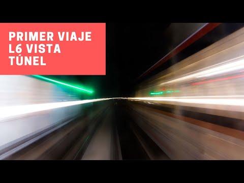 Metro de Santiago | Primer viaje entre Cerrillos y Los Leones (L6) en un CAF AS-14