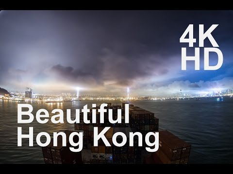Port of Hong Kong 4K TimeLapse