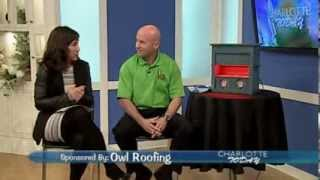 Radiant Barrier Insulation TV Interview WCNC Charlotte Today Show with Owl Roofing and Mike Knight Thumbnail