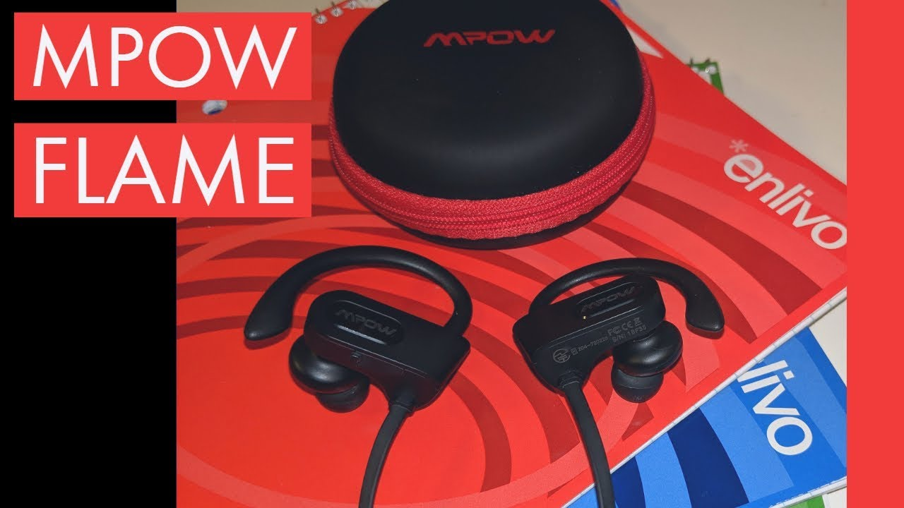 422f926cf9809f MPOW FLAME REVIEW - Best Bluetooth Earbuds? - YouTube