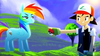 Repeat youtube video Pokémon vs. My Little Pony - ANIMEME RAP BATTLES