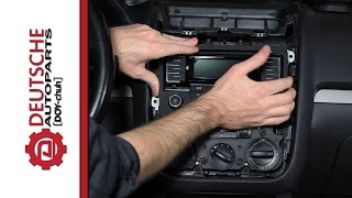 How to Install an OEM VW RMT300 (Bluetooth) Radio on a MK5 Jetta