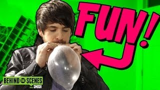 FUN WITH CONDOMS (BTS)