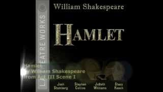 the tone of hamlets first soliloquy in shakespeares hamlet Detailed analysis of hamlet's second soliloquy directory: london's first public playhouse shakespeare hits the big o, what a rogue and peasant slave am i.