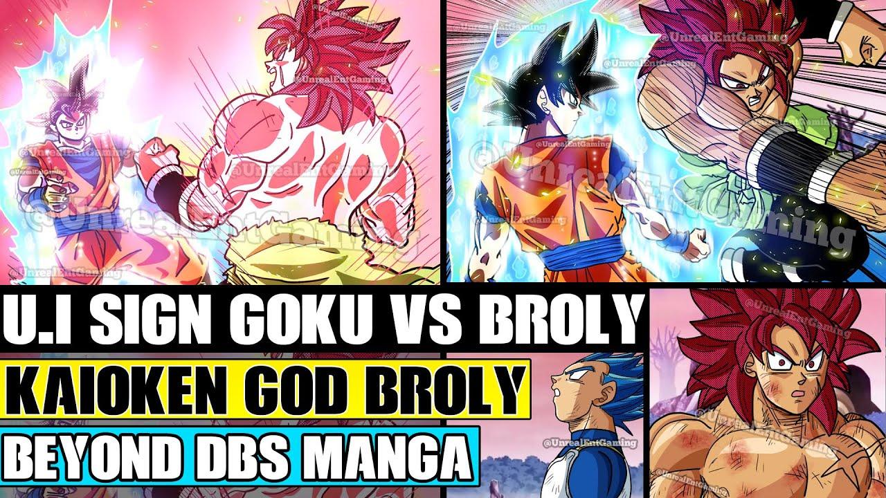 Download Beyond Dragon Ball Super: Super Saiyan God Broly Vs Ultra Instinct Goku! God Broly Uses Kaioken!