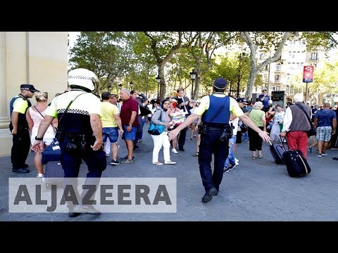 Thumbnail: Van ploughs into Barcelona crowd killing at least 13