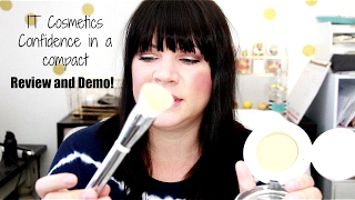 IT COSMETICS CONFIDENCE IN A COMPACT SWATCHES, REVIEW AND DEMO!!