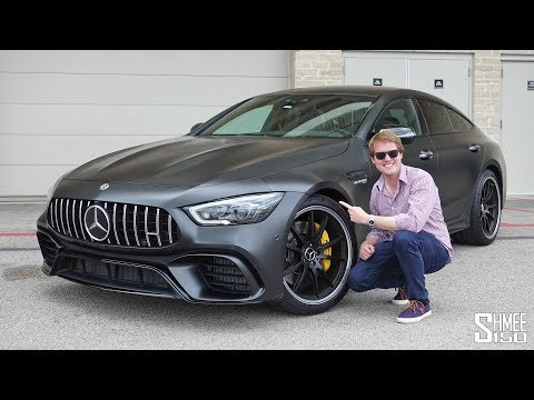 THIS is the New Mercedes AMG GT 4-Door 63S! | FIRST DRIVE