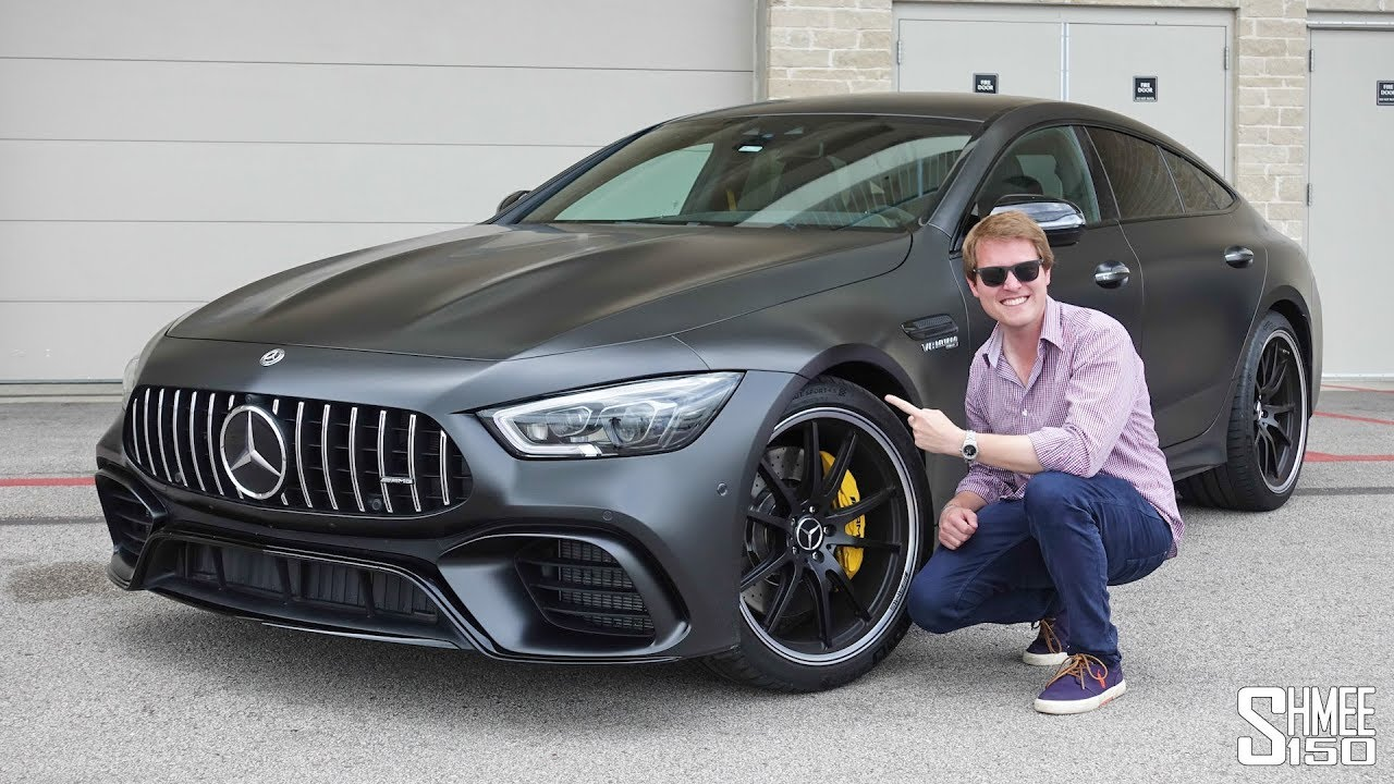 this is the new mercedes amg gt 4 door 63s first drive youtube