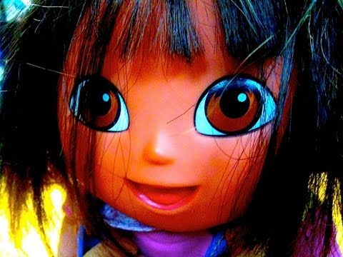 Creepy Dora The Explorer Doll Name Her Demon Possessed Toy Review