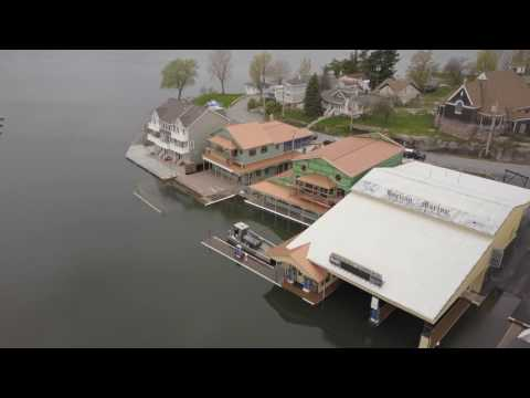 High Water & Flooding - St Lawrence River - Alexandria Bay, NY