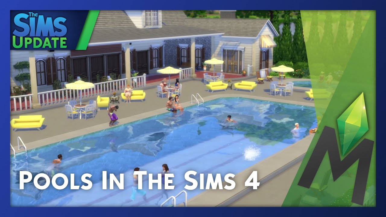 The sims 4 pools building tips and tricks youtube for Pool designs sims 4