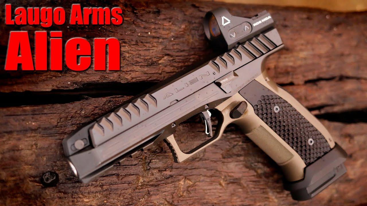 Laugo Arms Alien First Shots: The Future of Handguns