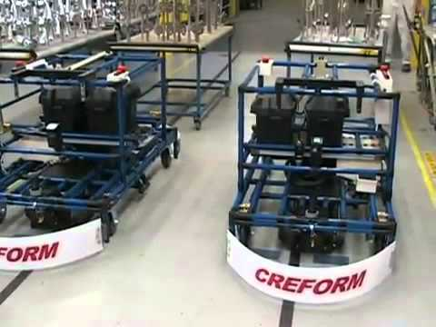 Automated Guided Vehicles Agc Agv Systems By Creform