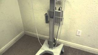 Bard Site Rite 6 Ultrasound Scanner 9770066 W/ Rolling Stand L-VA Vascular Probe