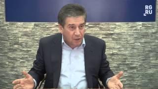 """Владимир Петросян на """"Деловом завтраке"""" в """"РГ"""""""