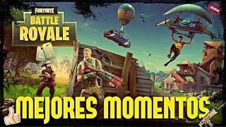 MEJORES MOMENTOS FORTNITE - Fortnite Battle Royale Funny Moments