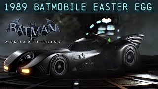 EGG; Batman; Arkham Origins; 1989 Batmobile Easter Egg