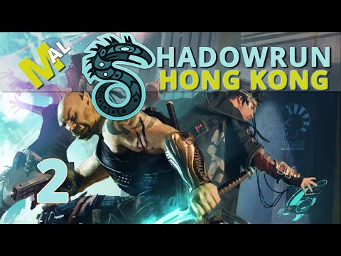 Shadowrun Hong Kong Let's Play - Run To The Shadows, Part 2