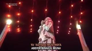 Ya 'asyiqol musthafa (lirik)-Wafiq Azizah