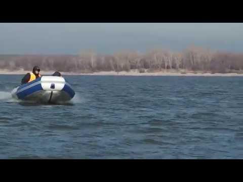 Надувная моторная лодка пвх с дном низкого давления Аквилон (Aquilon) 008