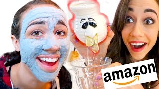 Download TESTING THE WEIRDEST AMAZON PRODUCTS! Mp3 and Videos