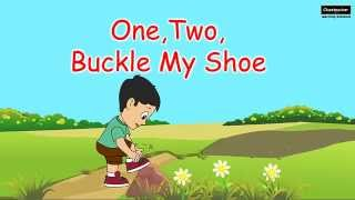 One Two Buckle My Shoe Nursery Rhyme - English Poem For Children Lyrics Playlist