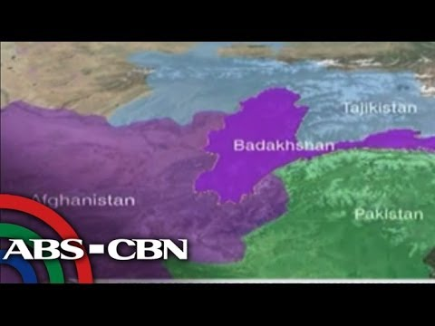 Hundreds of people died in Afghanistan landslide