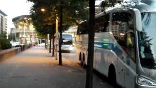 Brussels South Bus Stops for Charleroi Airport
