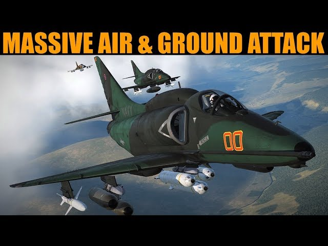 Colombia Campaign: DAY 8 HUGE Air & Ground Push For Airbase | DCS WORLD