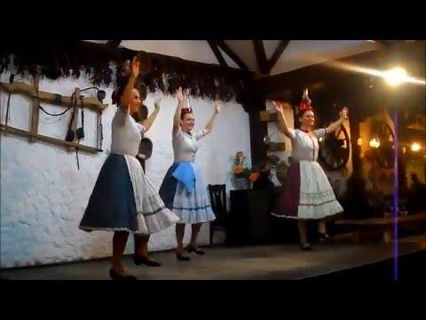 Budapest, Hungary - Folk Dance Performance
