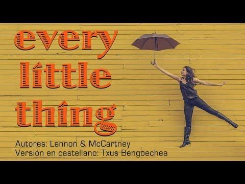 Every little thing. The Beatles. Adaptación al castellano. Versión española. Spanish cover. Karaoke