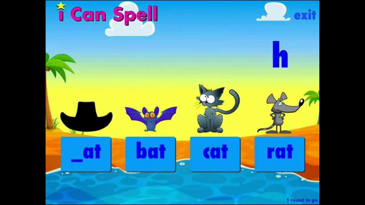 i Can Spell with Phonics (UK Speech)