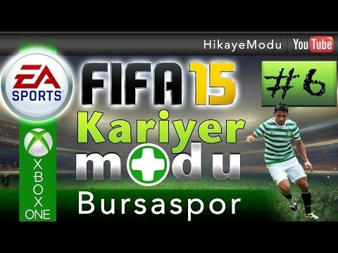Fifa 15 Kariyer Modu - Bursaspor #6 Ve Bursaspor Avrupa Sahnesinde