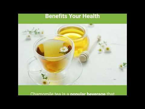 5 Ways Chamomile Tea Benefits Your Health-Healthy Drinks