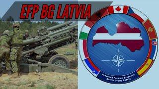 eFP Battlegroup Latvia - NATO - OP REASSURANCE - Roto 11