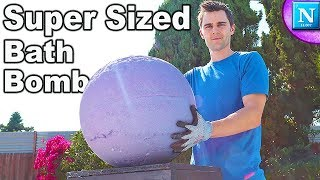 SUPER SIZED BATH BOMB: Science Secret Recipe