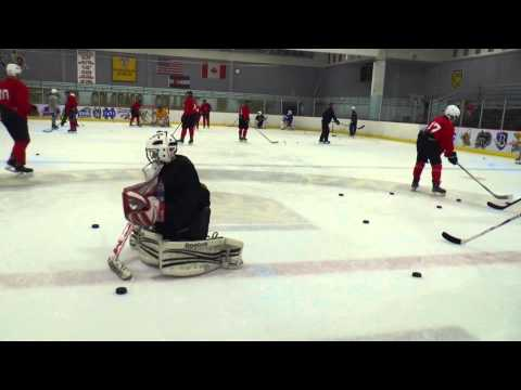 Goaltender Skill of the Month: Sliding Warmup
