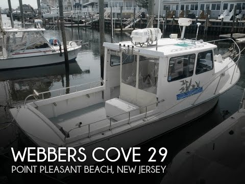 [SOLD] Used 1997 Webbers Cove 29 In Point Pleasant Beach, New Jersey