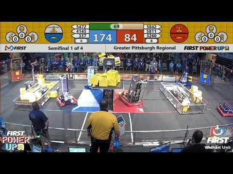 Semifinal 1 - 2018 Greater Pittsburgh Regional