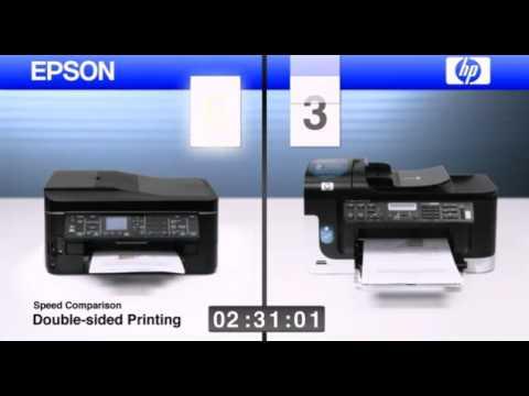 EPSON FANS INKJET DUPLEX SPEED vs HP