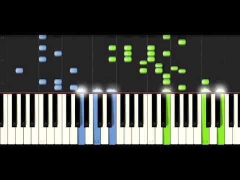 Amadeus-Salieri's March of Welcome Piano Tutorial (Synthesia)