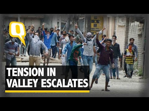 The Quint: Violent Protests In Kashmir After Slain Militant Burhan's Burial