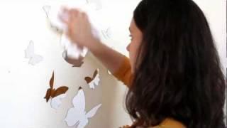 Watch Our Mirror Wall Sticker & Mirror Wall Art Video | Lot 26 Studio