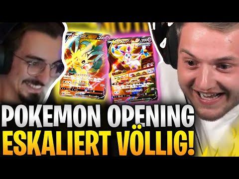 😱💸ER BEKOMMT JEDES 5. PACK UND ZIEHT DAS!! ADRENALIN PUR - Pokemon Opening DUELL gegen @Rumathra