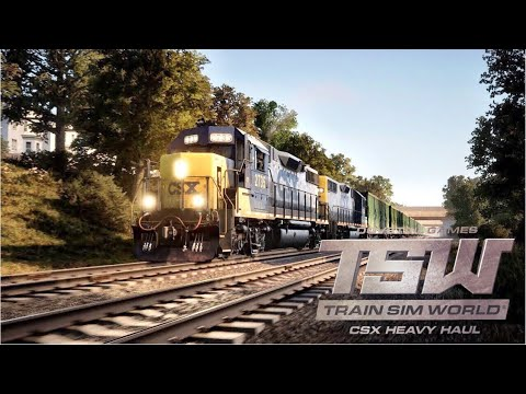 TRAIN SIM WORLD LIVE! TSW: NEC NEW YORK FREIGHT SERVICES UPDATE