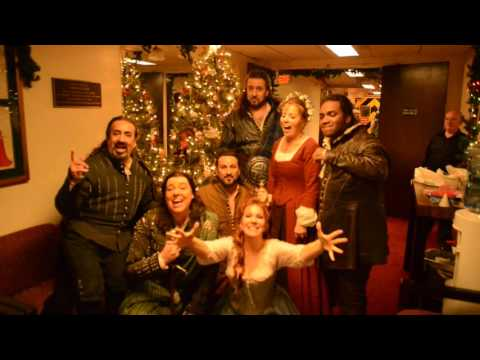 La donna del lago cast - We wish you a merry Christmas