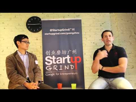 Todd Embley (Chinaccelrator) at Startup Grind Guangzhou