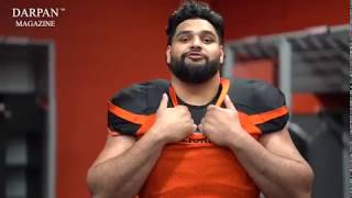 BC Lions Star Sukh Chungh: Making of the Darpan Magazine Spring Cover