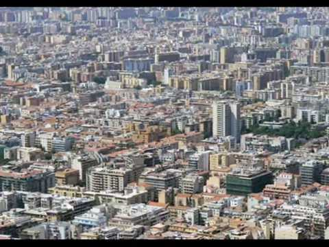 The city of Palermo with the soundtrack of
